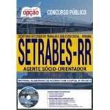 Livro Setrabes 2018   Agente Sócio orientador [cd Grátis]